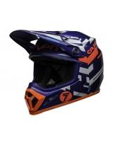 BELL MX-9 Mips Helmet Seven Equalizer Blue/Pink/White