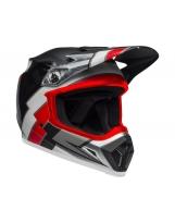 BELL MX-9 Mips Helmet Strike Matte Gray/Black/Hi Viz