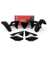 Racetech Plastikkit CRF 450 17- 250 18- schwarz  6tlg.