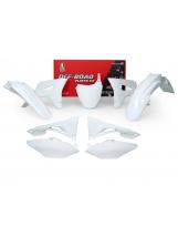 Racetech Plastikkit CRF 450 17- 250 18- weiß  6tlg.