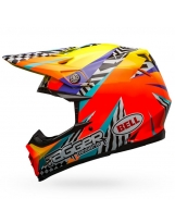 BELL Moto-9 Mips Helmet Tagger Breakout Orange/Yellow