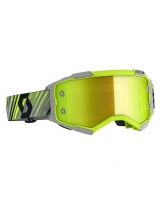 Scott Fury MX / MTB Brille gelb/grau/gelb chrom works