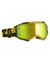 Scott Fury MX / MTB Brille gelb/schwarz/gelb chrom works