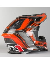 JUST1 Helmet J12 Flame Black-Orange