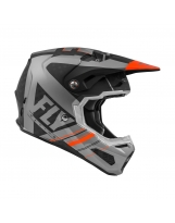 Fly Racing  Formula Vector matt-orange-grau-schwarz