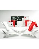 Plastikkit CRF 450 13-16 / CRF 250 14-17 Rot/Weiß OEM 6tlg.