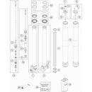 Ktm WP Suspension R14047 Gabelführungsbuchsen kit 48mm