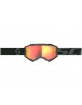 Scott Fury MX / MTB Brille SCOTT Fury black / orange chrome works