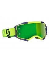 Scott Fury MX / MTB Brille SCOTT Fury blue/yellow / green chrome works