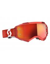 Scott Fury MX / MTB Brille SCOTT Fury bright red / orange chrome works