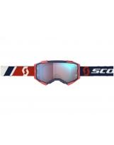 Scott Fury MX / MTB Brille SCOTT Fury red/blue / blue chrome works