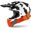 Airoh Twist 2,0  Orange Matt Frame