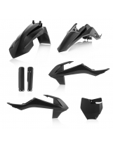 Acerbis Plastik Full Kit KTM/GASGAS  schwarz / 5tlg.