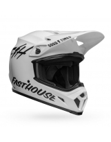 BELL MX-9 Mips Helm - Fasthouse Gloss White/Black